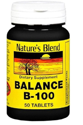 Nature's Blend Balance B-100 Tablets, 50ct 079854200959A672