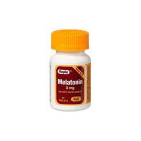Rugby Melatonin Tablets, 3mg, 60ct 305366412086G310