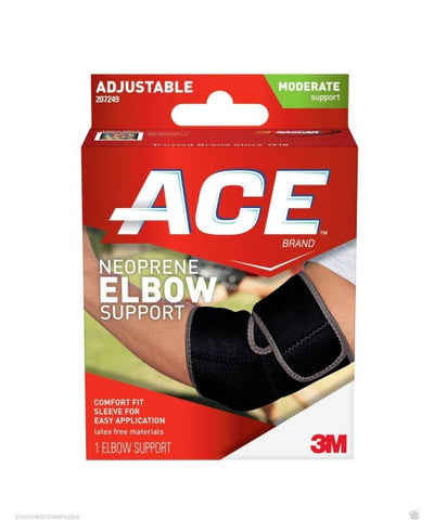 Ace Neoprene Elbow Support, One Size, Moderate, 1ct 051131198050A736