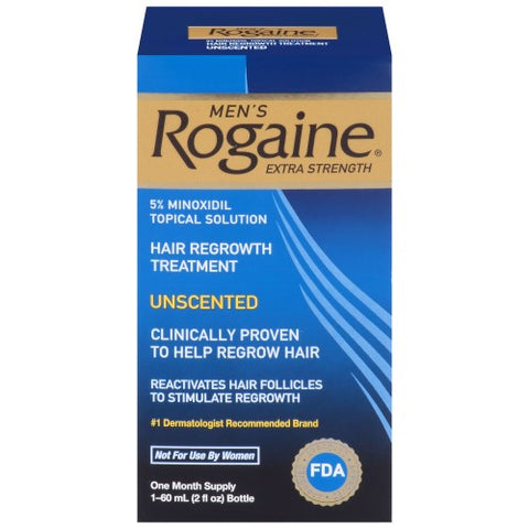 Rogaine Men's Extra Strength, Unscented, 5%, 2oz 312547700207S2326