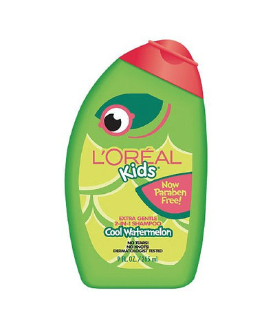 L'Oreal Kids Extra Gentle Shampoo, Watermelon, 9oz 071249237045T248