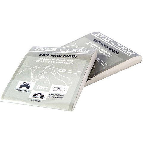 Ever-Clear Soft Lens Cloths, 25ct 076855710098A105