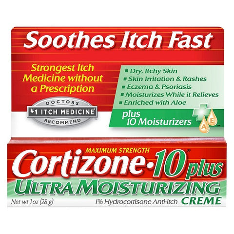 Cortizone 10 Plus Cream, 1oz 041167010563S375