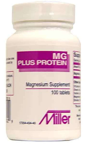 Miller Pharma MG Plus Protein Magnesium Tablets, 100ct 172040434401S580