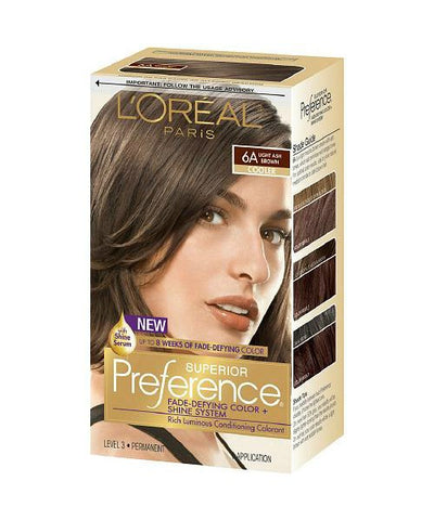 L'Oreal Paris Superior, 6A Light Auburn, 1ct 071249253113A755