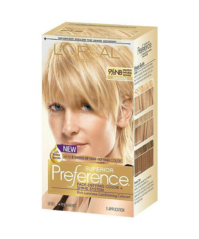 L'Oreal Superior Preference, Lightest Natural Blonde 071249253304A755