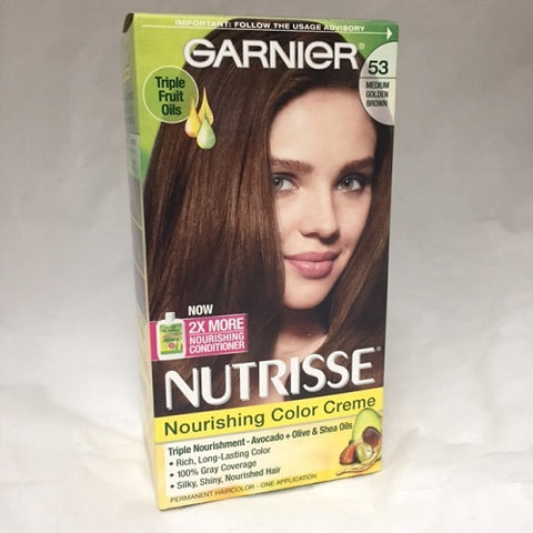 Garnier Nutrisse Creme Kit, 53 Medium Golden Brown 603084242696A588