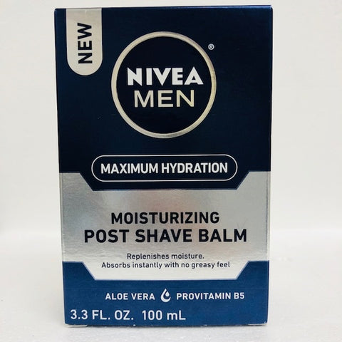 Nivea Men's Post Shaving Balm, New Formula, 3.3oz 072140813000G431