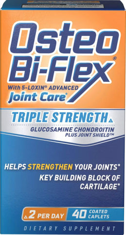Osteo Bi-Flex Joint Care, Coated Tablets, 40ct 030768031206G1102