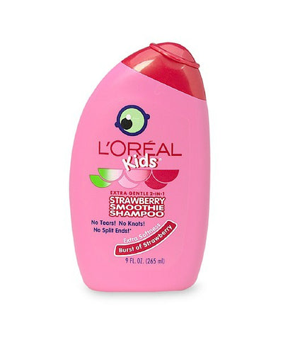 L'Oreal Kids Gentle 2-in-1 Shampoo, Strawberry, 9oz 071249237076A276