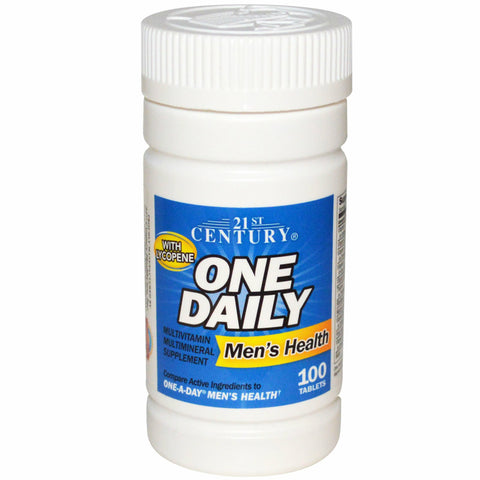 21st Century One Daily Men's Health Tablets, 100ct 740985273050A241