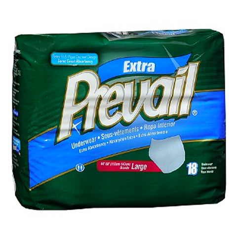 Prevail Adult Underwear, Extra Absorb, Large, 4X18ct 090891500024T3999