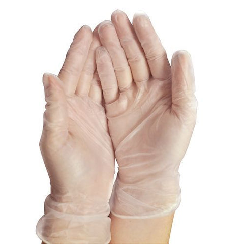 Cypress Trilon Synthetic Vinyl Exam Gloves, Lg, 100ct 766851259614A489
