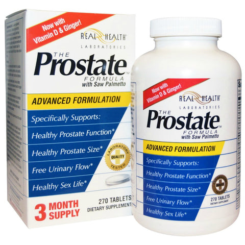 Real Health Prostate Formula Tablets, 270ct 647125000012S2100