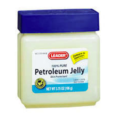 Leader Pure Petroleum Jelly, 3.75oz 096295110616A105