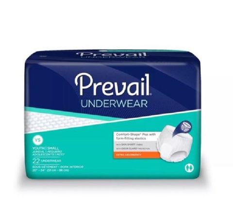 Prevail Protective Adult Underwear, Small/Youth, 88ct 090891500000T3999