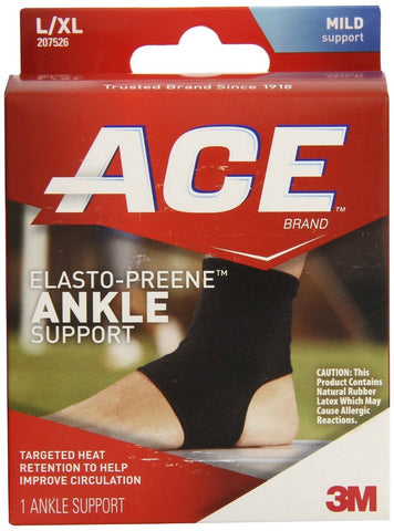 Ace Elasto-Preene Ankle Mild Support, Large/XLarge 051131203884A761