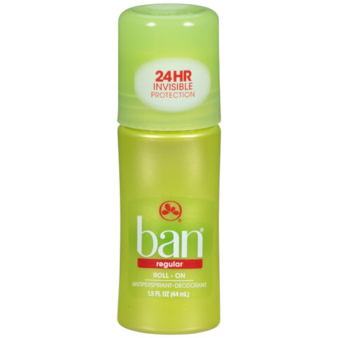 Ban Original Roll-On Antiperspirant/Deodorant, 1.5oz 019045001125T210