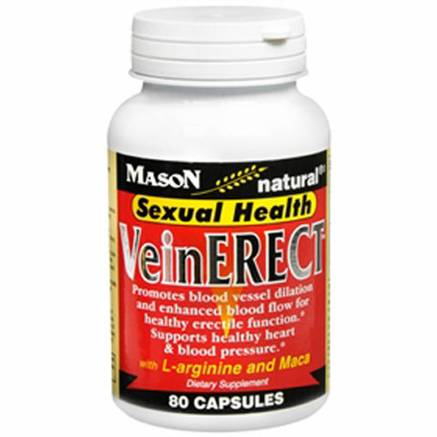 Mason Vein Erect Sexual Health Capsules 80 ct 311845134981765