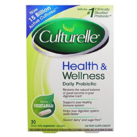 Culturelle Probiotic Natural Dairy & Gluten Free, 30ct 049100364049T1443