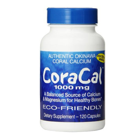 21st Century CoraCal Capsules, 1000mg, 120ct 740985227732J1005