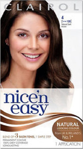 Clairol Nice 'n Easy Hair Color, Natural Dark Brown 381519000355A623