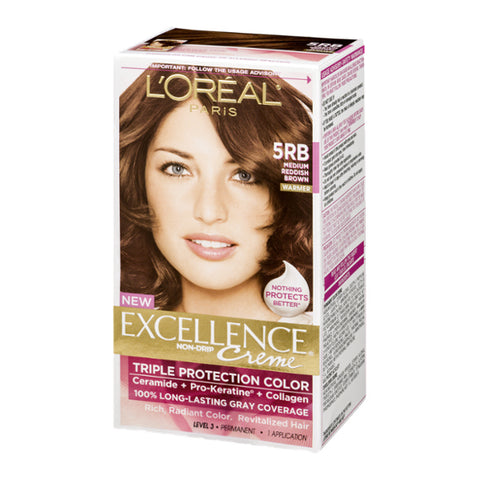 L'Oreal Creme Kit, Medium Reddish Brown, 1ct 071249210581A699