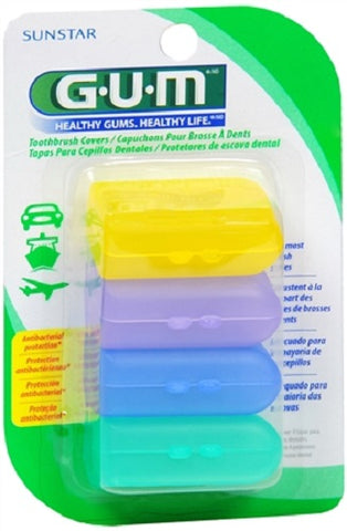 GUM Toothbrush Covers, 4ct 070942302357S067