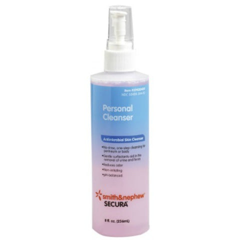 Smith&Nephew Secura Personal Cleanser, 8oz 504840304002G306