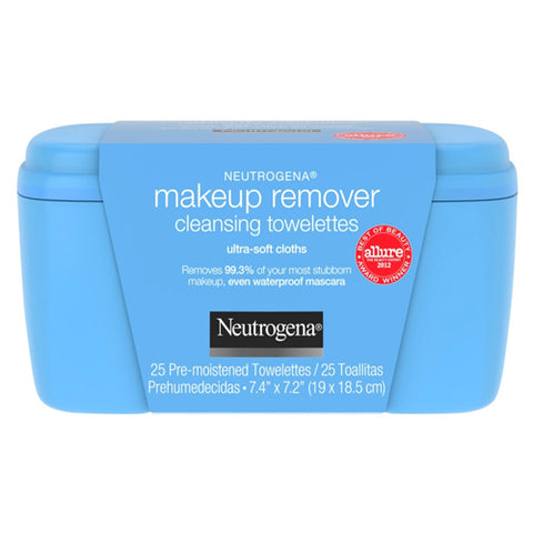 Neutrogena Make-up Remover Cleansing Towelettes, 25ct 070501051009T624