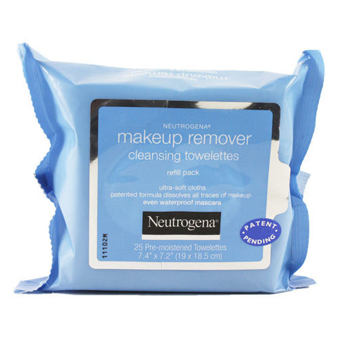 Neutrogena Make-up Remover Refill Towelettes, 25ct 070501051054A446