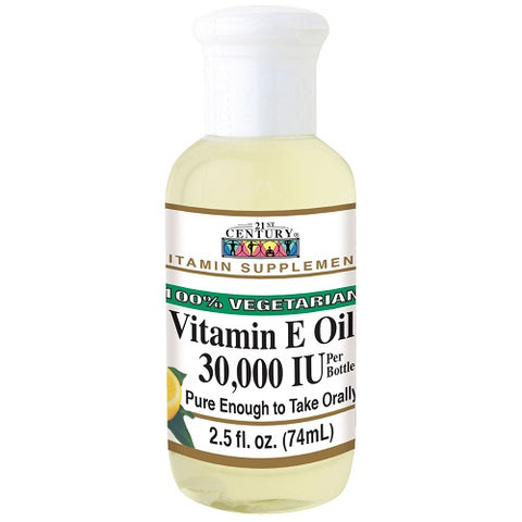 21st Century Vitamin E Oil 30,000 IU, 2.5oz 740985228845S402