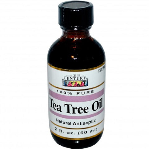 21st Century Tea Tree Oil, Natural Antiseptic, 2oz 740985228852A660