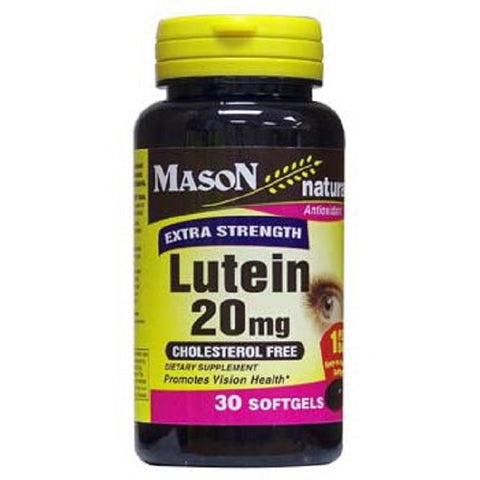 Mason Extra Strength Lutein 20mg Softgels, 30ct 311845140289S891