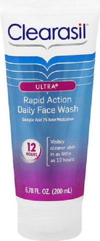 Clearasil Ultra Daily Face Wash, 6.7oz 839977009224A476