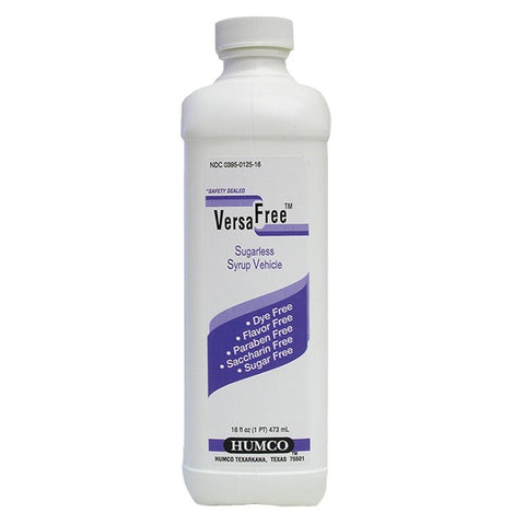 Humco Versa Free Sugarless Syrup Vehicle, 16oz 303950125169A1264