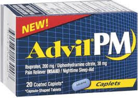 Advil PM Pain Reliever Liqui-Gels, 200mg, 20ct 305730164207A365