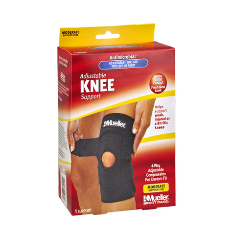 Mueller Knee Support, Adjustable, One Size, 1ct 074676644110S866