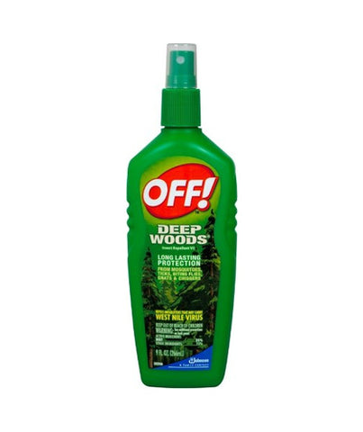 OFF Deep Woods Spray, 6oz, Unscented 046500218453C578