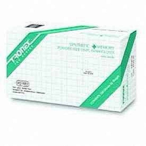 Tronex Nitrile Powder Free Exam Gloves, Medium, 50ct 097604966221A780