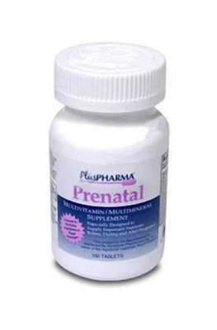 Plus Pharma Prenatal 27-0.8mg, 100ct 837864837011S447