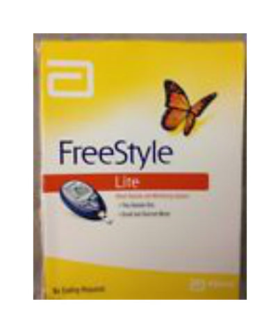 FreeStyle Lite Blood Glucose Monitor Kit, 1ct 699073708052S1700
