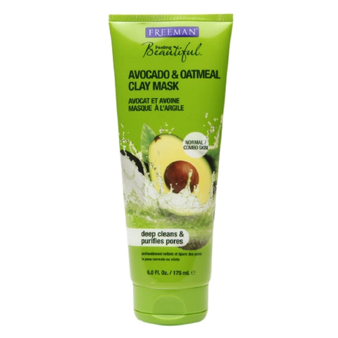 Freeman Facial Mask, Avocado & Oatmeal, 6oz 072151452229S272