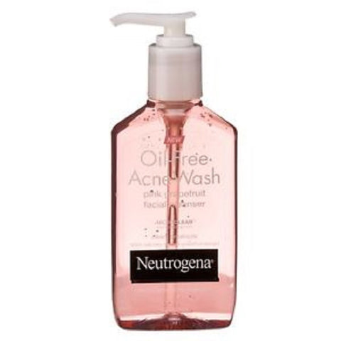 Neutrogena Oil-Free Acne Wash, Pink Grapefruit, 6oz 070501053652T574