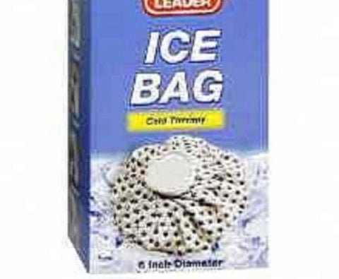 Leader Ice Bag, 6inches, 1ct 096295116397A365