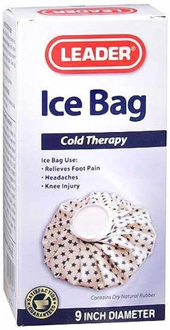 Leader Ice Bag, 9inches, 1ct 096295116403A370