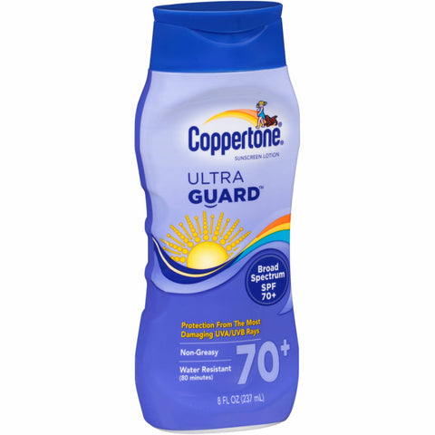 Coppertone Ultra Guard Sunscreen, SPF70+, 8oz 000004122412A831