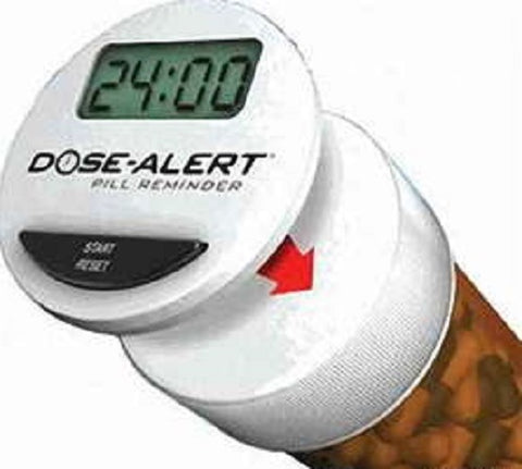Dose-Alert Digital Pill Reminder, 1ct 894893002018S338