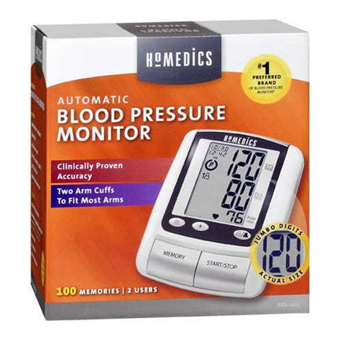 Homedics Automatic Blood Pressure Monitor, 1ct 031262036445S3464