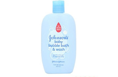 Johnson's Baby Bubble Bath & Wash, Original, 15oz 381371021253T347